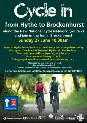Cycle-In-Hythe-Brockenhurst