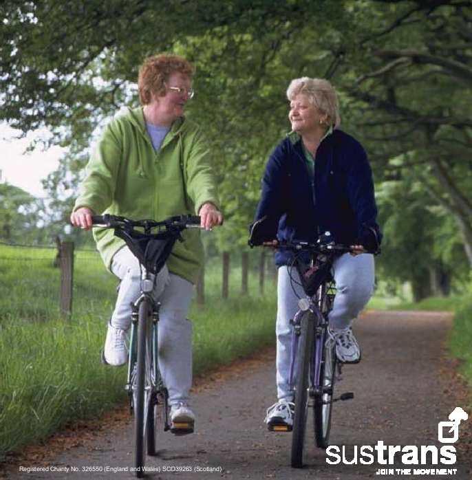 Sustrans Over 50's Bike Ride October 1st 2010